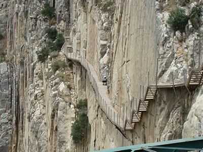 El Caminito del Rey a Malaga  OUTDOOR OBSERVER