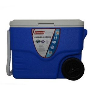 Coleman Cooler 38L Wheeled blue
