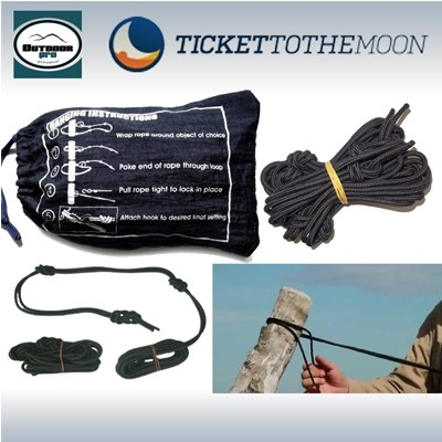 Ticket To The Moon Nautical Ropes