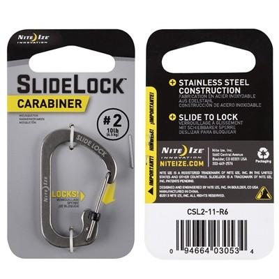 Nite Ize Slidelock Carabiner #2 stainless