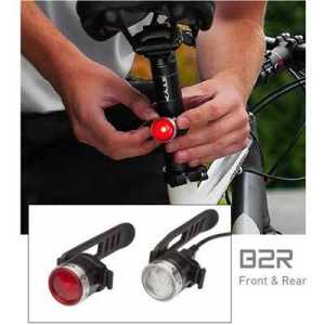 LED Lenser B2R Front + B2R Rear