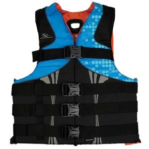 Stearns PFD 5974 Mens Infinity Series L XL abstract wave