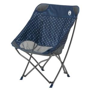 Coleman Healing Chair navy dot