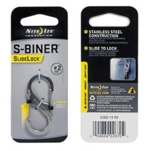 Nite Ize S-Biner Slidelock #2 stainless