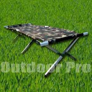 Bazoongi ODP 0408 Aluminium Camping Bed camouflage