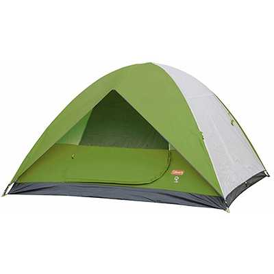 Coleman Sundome 4P Tent green