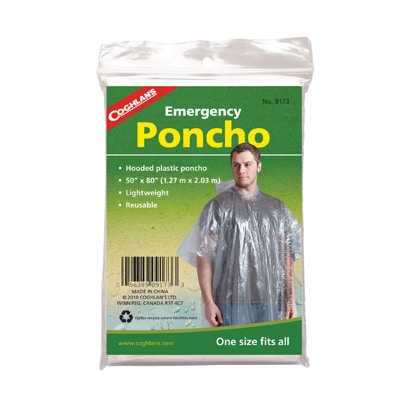 Coghlan's Emergency Poncho clear