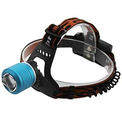 ODP 0487 Dual Light Source Zoom Headlamp various colour