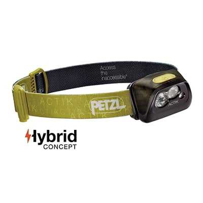 Petzl Actik Headlamp (2017) green