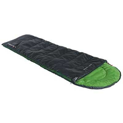 High Peak Easy Travel Sleeping Bag anthracite green