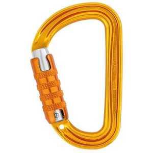 Petzl Sm'D Triact-Lock Carabiner (2017) yellow