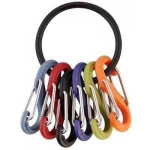 Nite Ize S-Biner Key Ring black