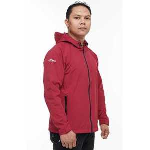Tera Gears ODP 0552 Viagem Series Windbreaker S ruby red