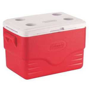 Coleman Cooler 36QT 34L red