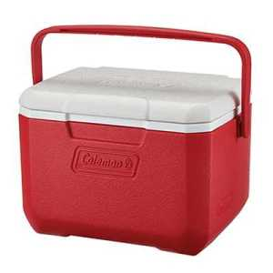 Coleman Cooler Take 6 - 5qt red