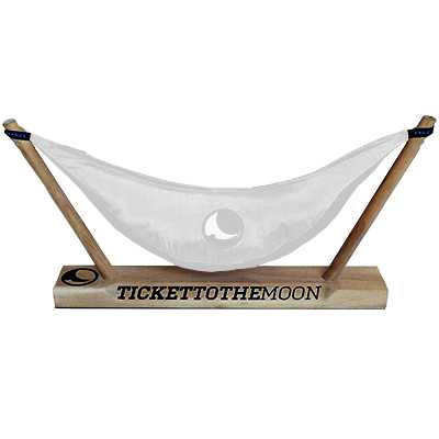 Ticket To The Moon Mono Display for Hammock