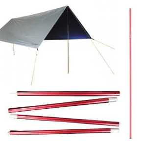 ODP 0580 Heavy Duty Flysheet Pole red