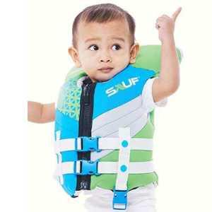Sauf ODP 0591 Neovi Baby Life Jacket Under 14 KG green blue