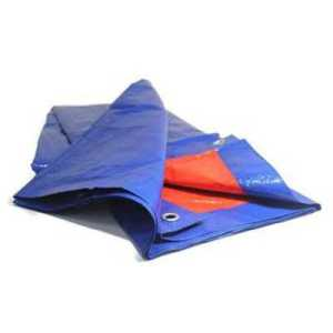 ODP 0596 Groundsheet 7' x 7' blue orange