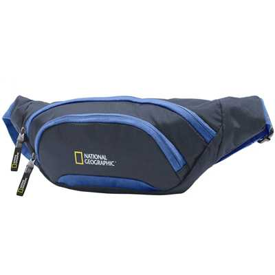 National Geographic Discover Waist Bag blue