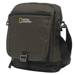 National Geographic Trail Utility Bag with Flap khaki