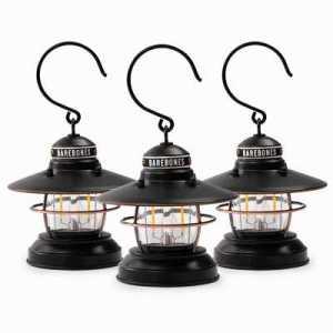 Barebones Edison Mini Lantern 3-Pack antique bronze