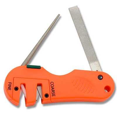 Accusharp 4-in-1 Knife & Tool Sharpener orange