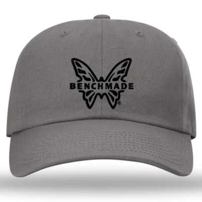 Benchmade Gray Butterfly Cap Hat 50061