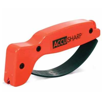 Accusharp Knife & Tool Sharpener orange