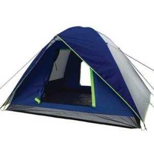 Freelife FRT 219 6 Men Tent Double Layer blue grey neon