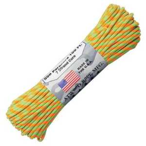 Atwood Rope MFG Paracord 550 Type 7 Strands 100 Feet Crush