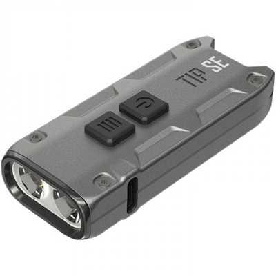 Nitecore TIP SE Rechargeable Flashlight grey