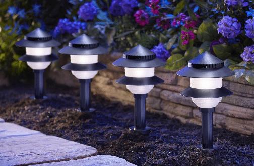 low voltage landscape light fixtures