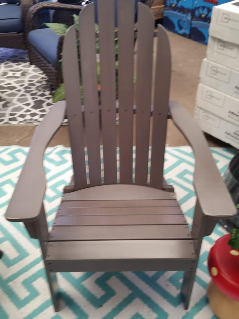 Mainstays outdoor wood Adirondack chairs  Outdoor Room Ideas