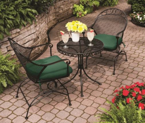 better homes and gardens clayton court bistro set