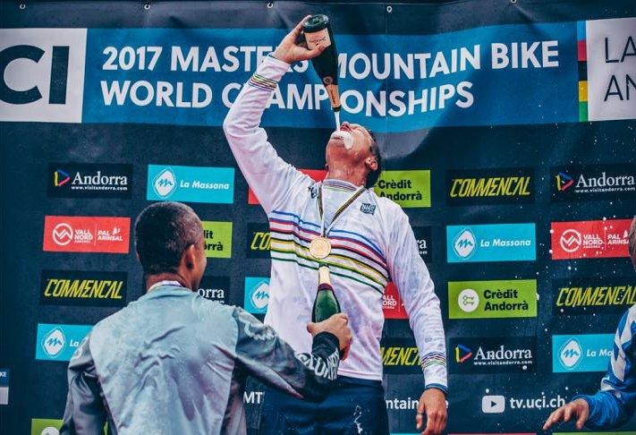 Guido Tschugg wird Weltmeister (Ü40)