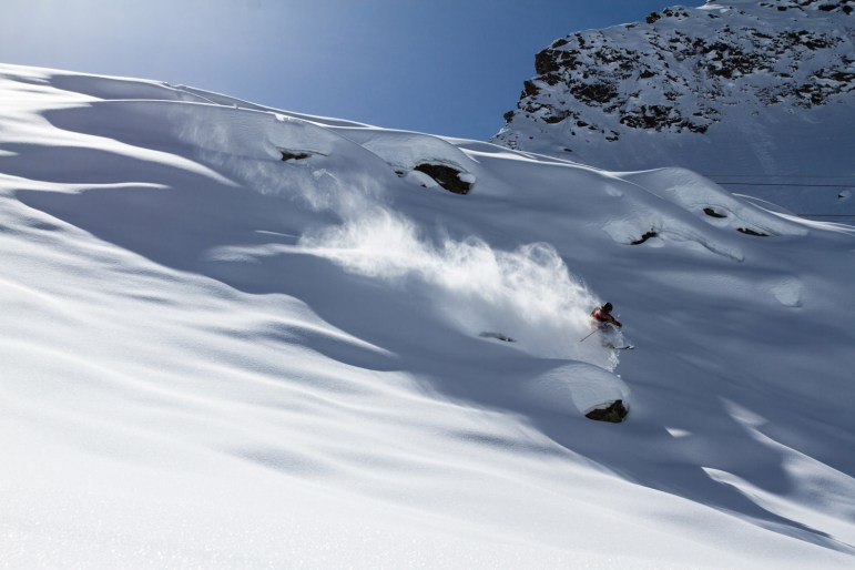Powder-Action mit Jochen Mesle