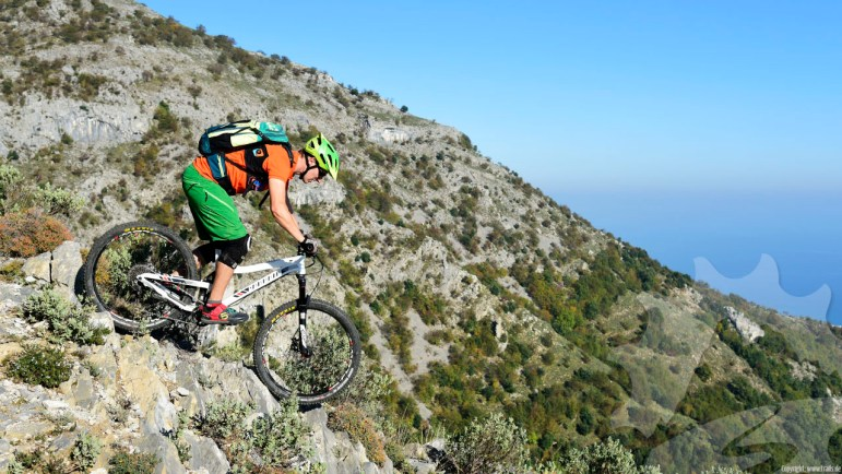 Spass auf den Finale Ligure Trails