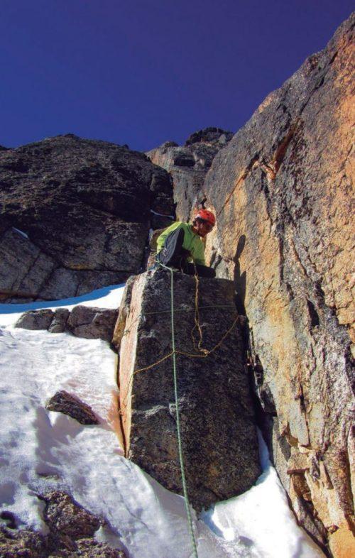 Escalada en Quimsa Cruz, Bolivia