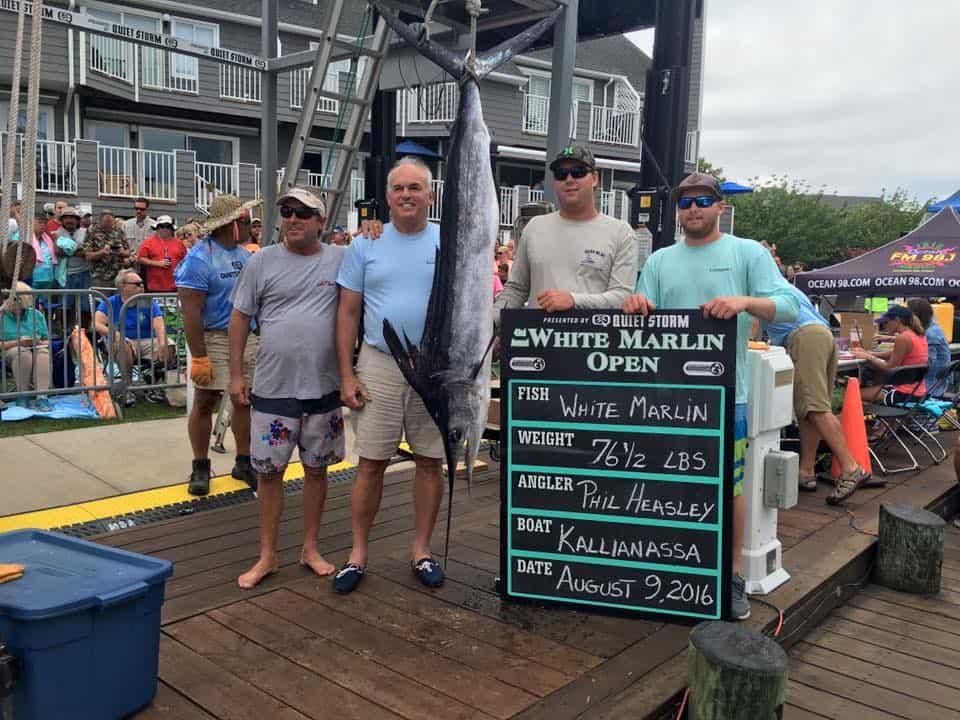 Facebook / White Marlin Open