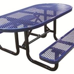 Orange Cafe Chairs Floor Lounge Chair Oval Expanded Metal Picnic Tables | Outdoor School Furniture