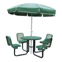 Round Outdoor Table Chairs