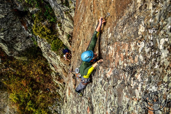 Sport Lead Climbing & Rappelling Outdoor Skills And Thrills