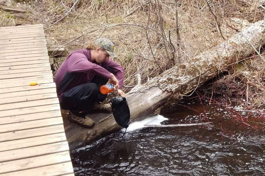 Getting Water Out of the River to Filter