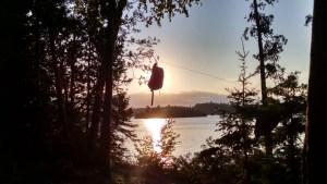 Sunset Bear Bag Ensign