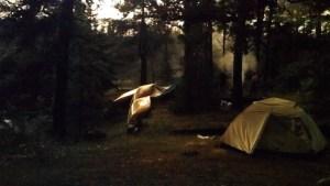 Post Storm Glow in Camp BWCA