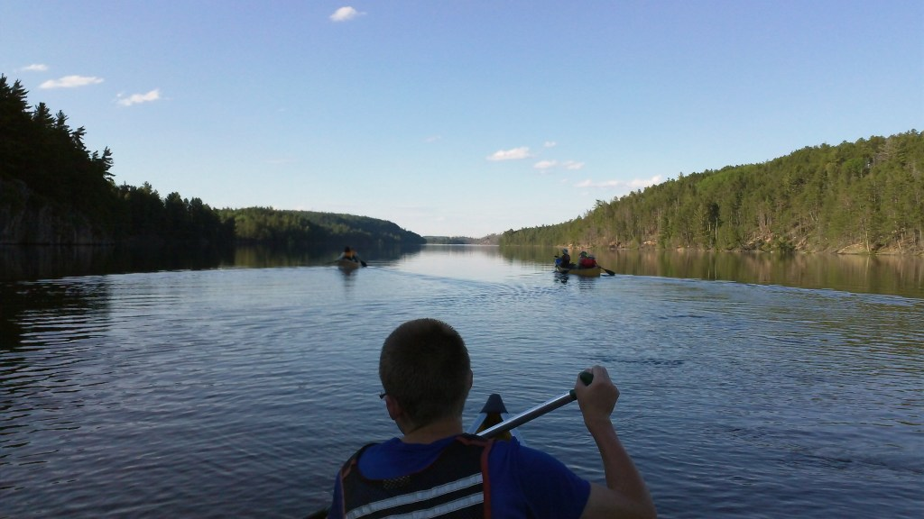 Quetico Morning Paddle - Outdoor Guide
