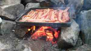 Bacon over the firBWCA