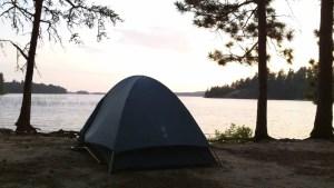 Sunset on Lake Sturgeon Quetico