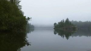 Fog Early on Ottertrek Lake BWCA